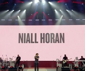 ariana grande, niall horan, and one love manchester image