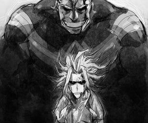all might, boku no hero academia, and my hero academia image