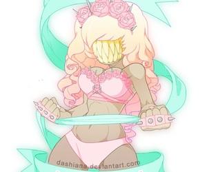 fight like a girl and princess koneko image