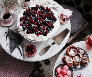 cake, fashion, and food image