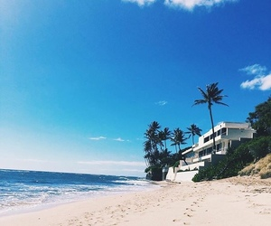 beach, sea, and landscapes image