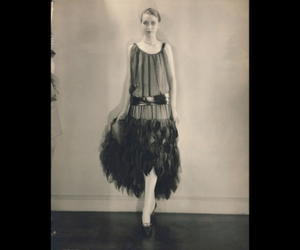 20s, black and white, and fashion image