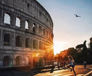 architecture, city, and coliseo image