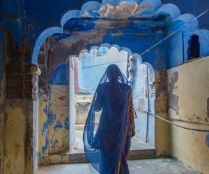 blue and ازرق image