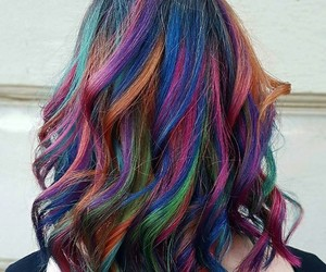 galaxy, hairstyle, and curlyhair image