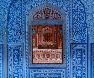 architecture, blue, and mosques image