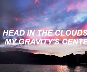 aesthetic, clouds, and gravity image