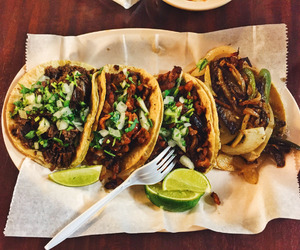 tacos, food, and delicious image