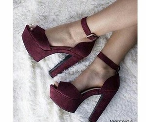 heels, shoes, and vj image