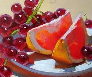 art, fruit, and goals image