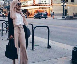 palazzo pants hijab image