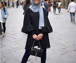 ruffle blouse hijab image