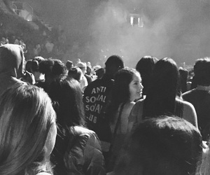 antisocial, concert, and fashion image