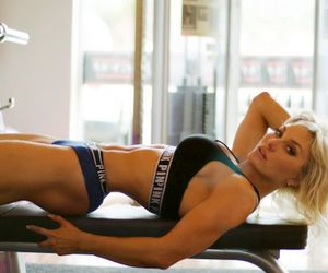 exercise, fitness, and hot girls image