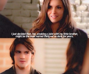 the vampire diaries, elena gilbert, and brothers image