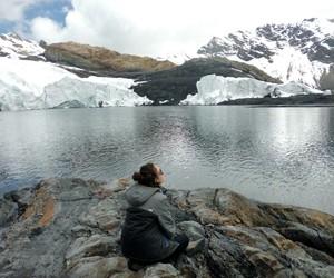 calm, glaciar, and ice image