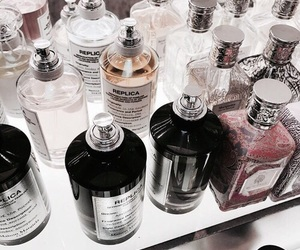 perfume, collection, and lifestyle image