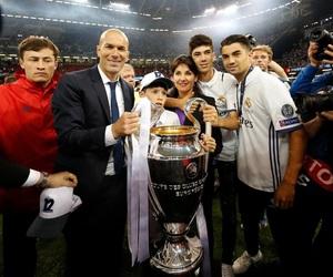 real madrid, zidane, and blancos image