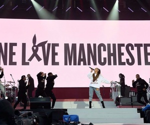 ariana grande and one love manchester image