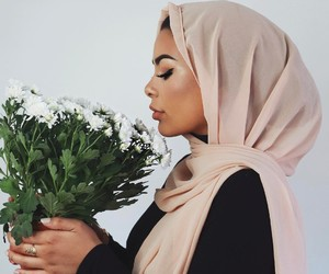 fashion, hijab, and beautiful image