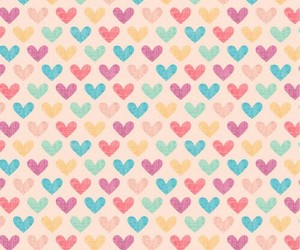 wallpaper, hearts, and heart image