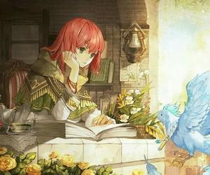 shirayuki, anime girl, and akagami no shirayukihime image