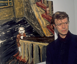 art, david bowie, and painting image