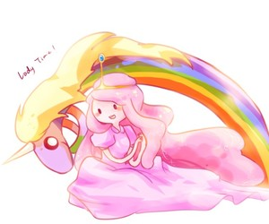 adventure time, princess bubblegum, and pink image