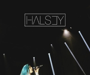 background, halsey, and wallpaper image