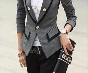 awesome, blazer, and outfit image