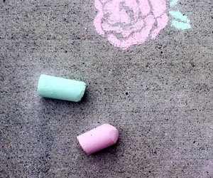 aesthetic, art, and chalk image