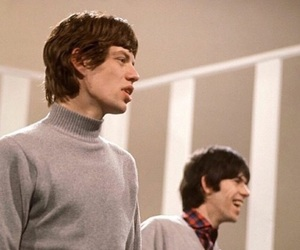 mick jagger, 60s, and Keith Richards image
