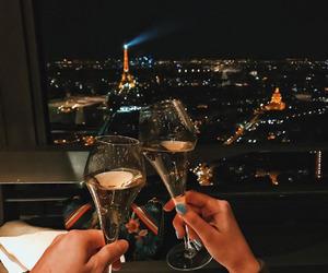couple, paris, and goals image