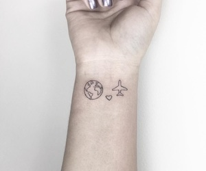 tattoo, travel, and world image