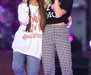 ariana grande, miley cyrus, and manchester image