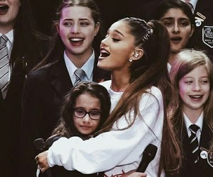 ariana grande, dangerous woman, and one love manchester image