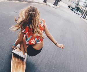 longboard, style, and summer image