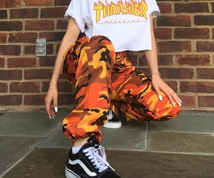 fashion, vans, and thrasher image