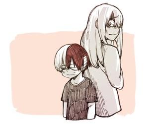 anime, fanart, and mom image