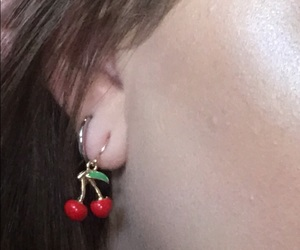 cherry, ear, and makeup image