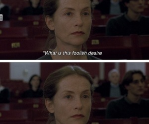 cinema, isabelle huppert, and movie image
