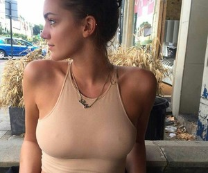 boobs, clothes, and hair image