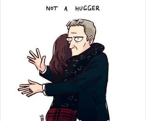 doctor who, peter capaldi, and clara oswald image