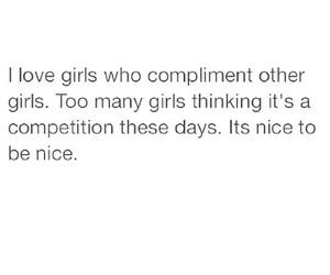 compliment