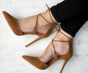 aesthetic, fashion, and hight heels image