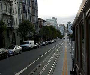 cable car, san fransisco, and ♡ image