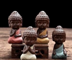 Buddha, compassion, and mind image