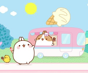wallpaper and molang image