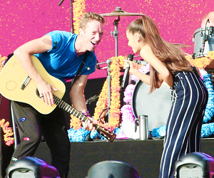Chris Martin, Queen, and ariana grande image