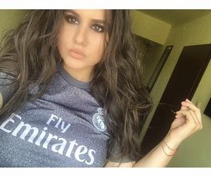 eyes, football, and girls image